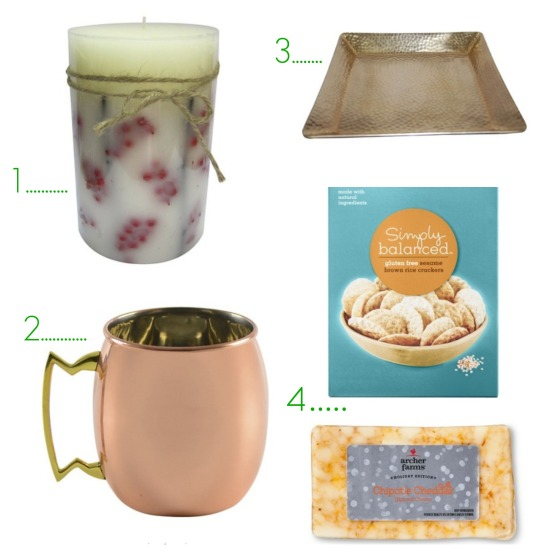 hostess gift guide collage