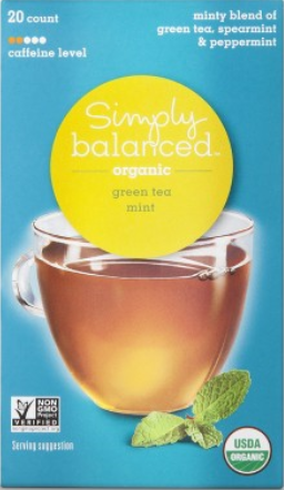 sb green mint tea