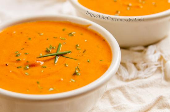 tomato parm soup